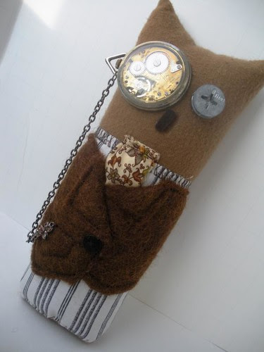 Steampunk Owl Plush