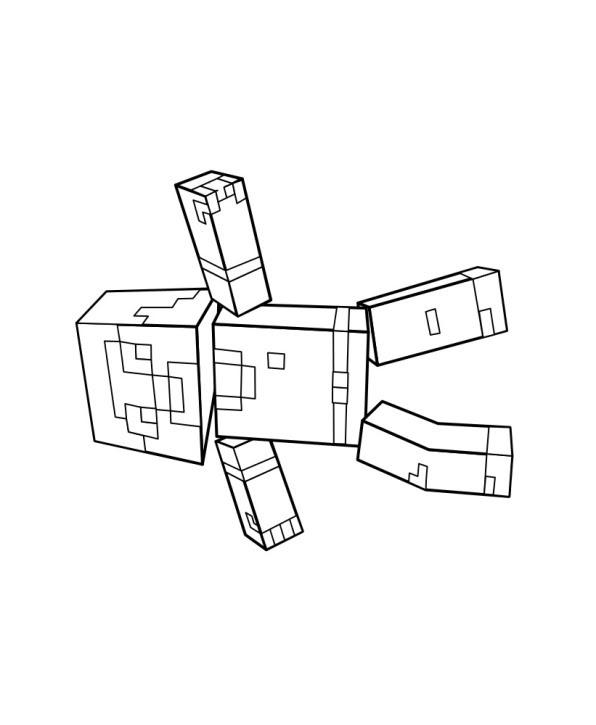 Kids-n-fun.de | 19 Ausmalbilder von Minecraft