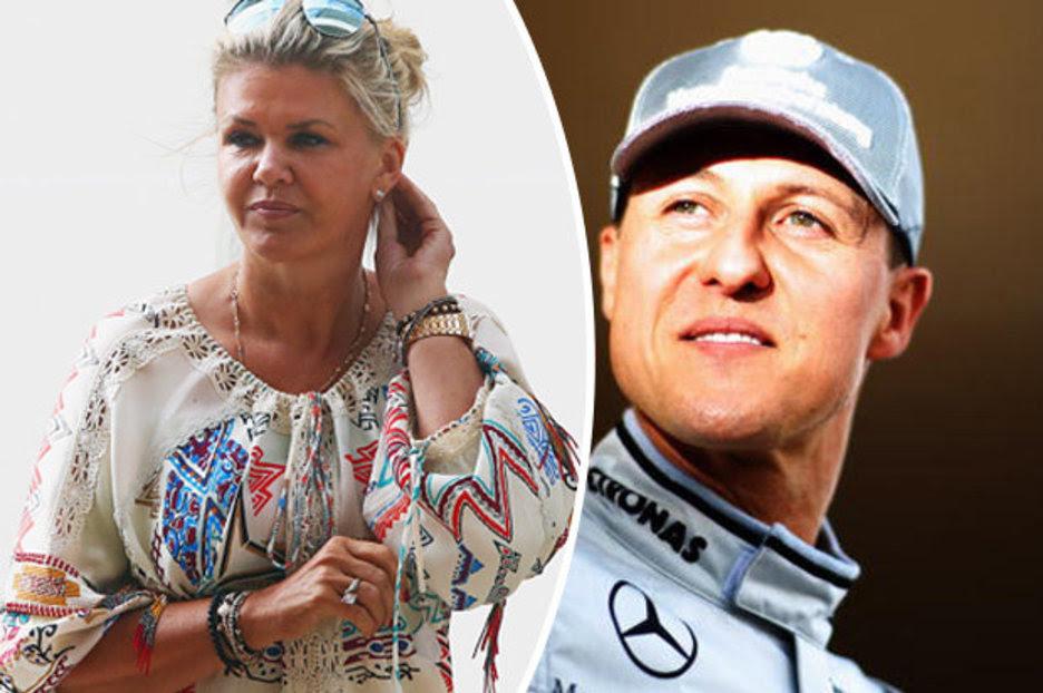 Michael Schumacher latest: F1 driver's wife torment ...