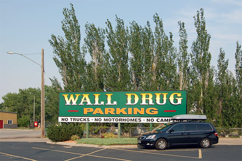 Wall Drug Parking