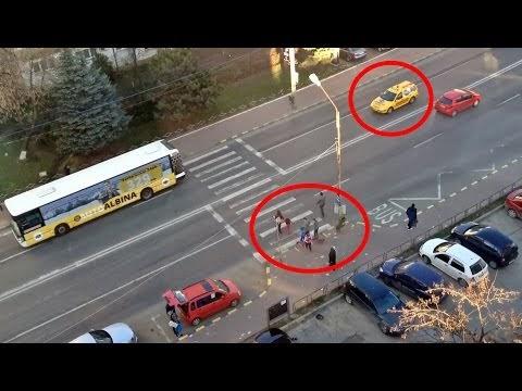 VIDEO Cea mai periculoasă trecere de pietoni din Suceava. Solicit Primăriei să monteze un semafor cu buton