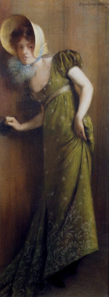 http://upload.wikimedia.org/wikipedia/commons/6/6d/Carrier_Belleuse_Pierre_Elegant_Woman_In_A_Green_Dress.jpg