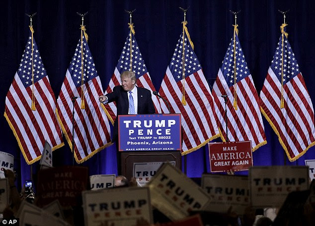 Trump delivered a tough speech in Phoenix Thursday where he called for a deportation task force