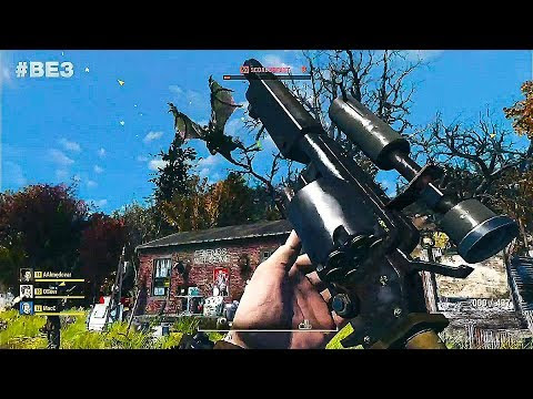 FALLOUT 76 Gameplay Demo (E3 2018)