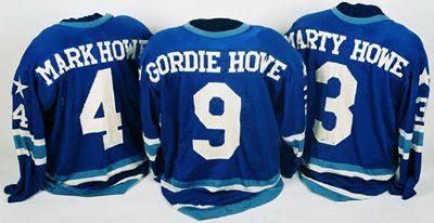 Howe Family Jerseys