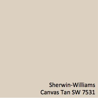 Sherwin-Williams Canvas Tan (SW 7531)