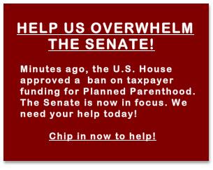 Help us overwhelm the Senate!