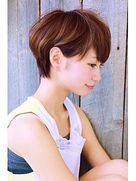 ショートヘア カラーアレンジ - 2016冬春最新 人気ヘアカラーTOP30【ショート&ショートボブ編