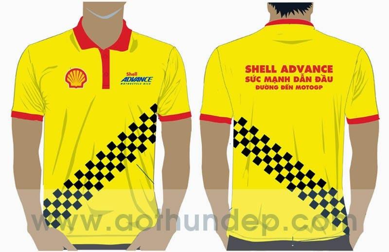 Áo thun đồng phục Shell Advance
