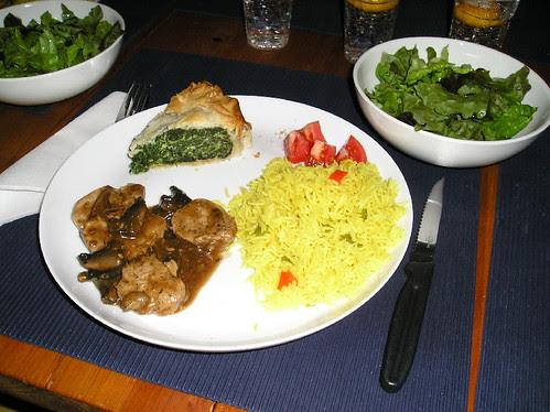 Filet de Porc Sauce aux Champignons