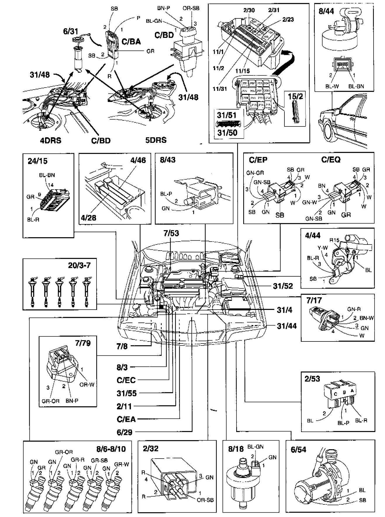 Yamaha Mate V50 Wiring Diagram