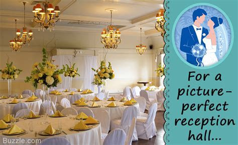 7 Ideas on How to Decorate a Reception Hall to Make it