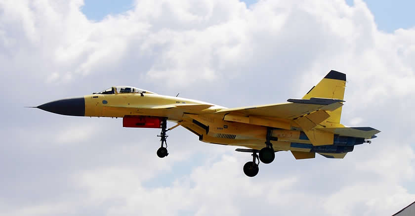 Chinese J-11 from strategy Page