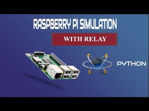 Relay Simulation with Raspberry Pi in Proteus