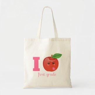 I Heart First Grade {eco bag}