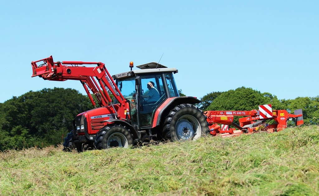 The Heatwave and Haylage Begin