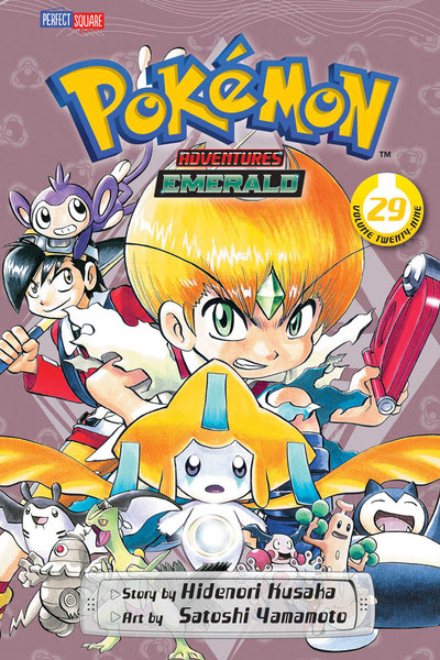Pokemon Adventures Manga Volume 29