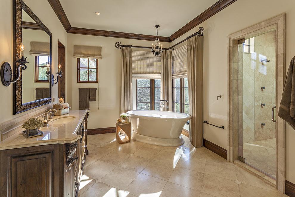 20 Great Mediterranean Bathroom Designs That Will ...