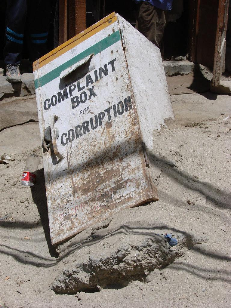 Corruption box