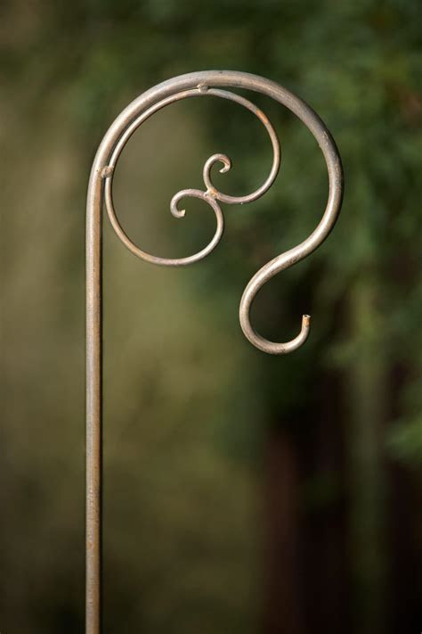 Platinum Decorative Shepherd Hooks 42in