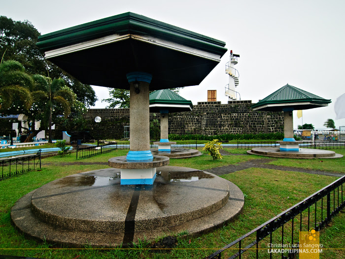 Gazebos at Cotta Shrine in Ozamiz City