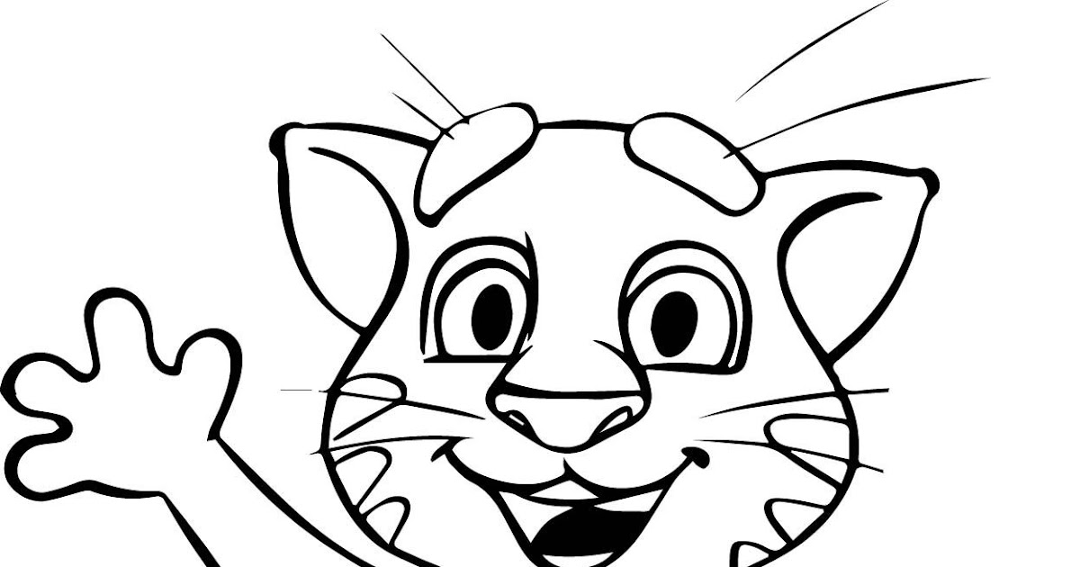 HD Exclusive Talking Tom And Friends Coloring Pages - hd ...