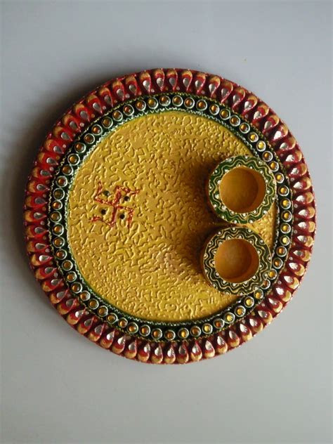 Plate Decoration & Decoration For Valaikappu Varisai S In
