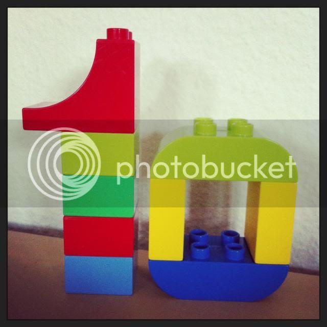 10 aus Lego Duplo