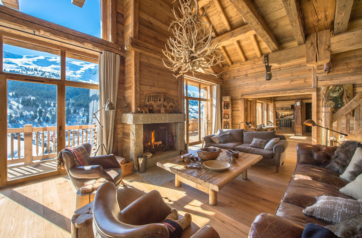 Rustic Interior Design Styles  Log Cabin, Lodge, Southwestern  Country