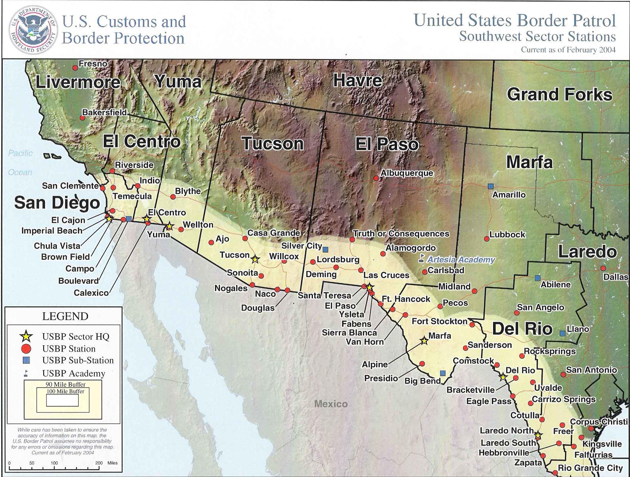 Business Ideas 2013 Border Patrol Checkpoints Map Texas