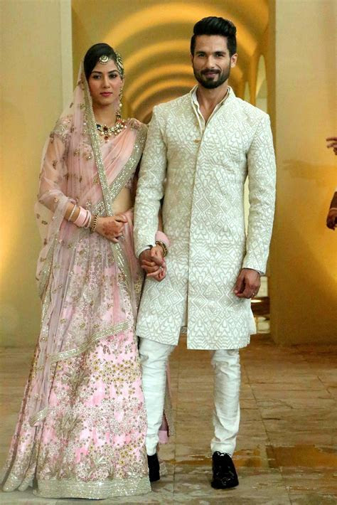 Shahid Kapoor & Mira Rajput Wedding   A in 2019   Couple
