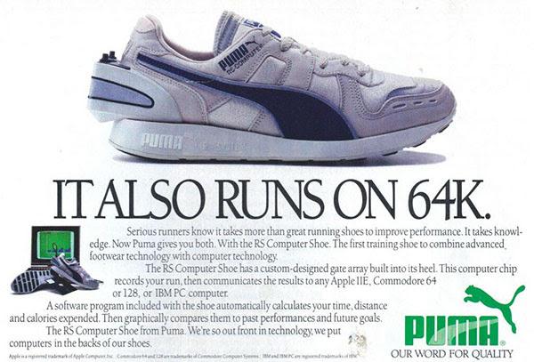 Anuncio Puma RS-100 Computer Shoe
