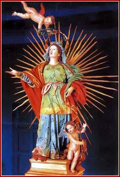 SANTA LEOCADIA, Virgen y Mártir