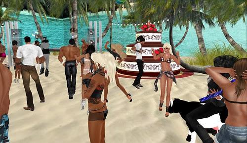 Persia's Rez Day Party