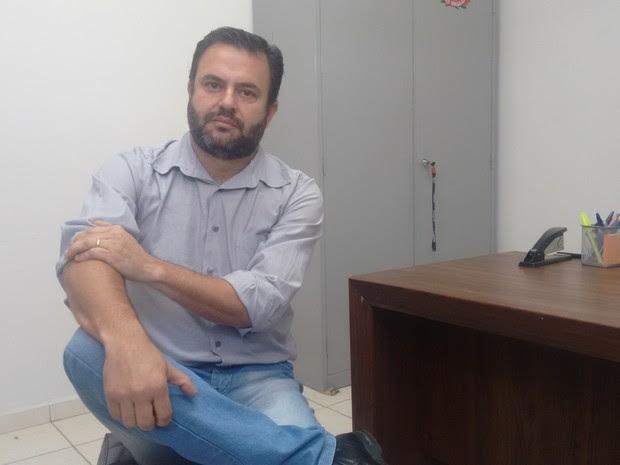 Marido nega participação na morte da mulher em Caçapava (Foto: Camilla Motta/G1)