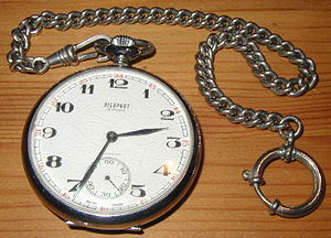 Pocket watches are used to keep track of time.