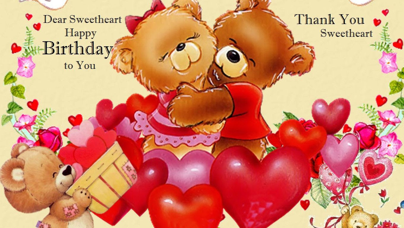 Dear Sweetheart Happy Birthday To You Pictures Photos And Images