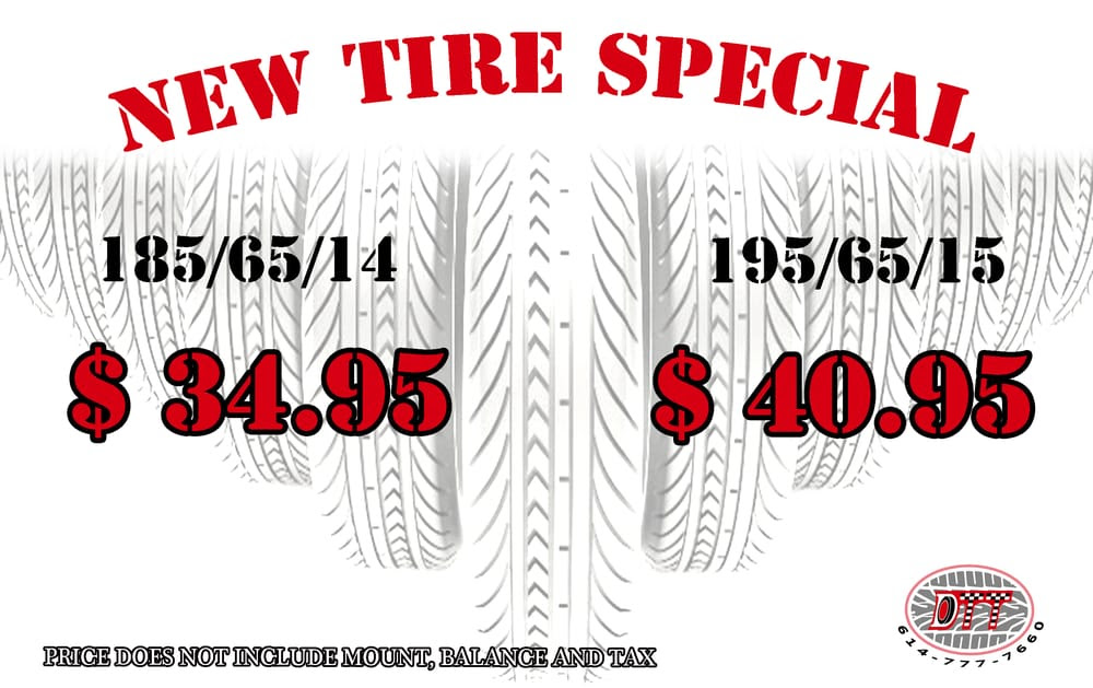 New Tire Deal Yelp