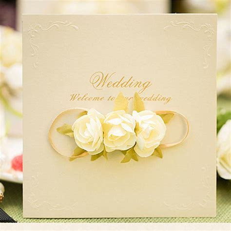 Rose Wedding Invitation Card Design Free Customized