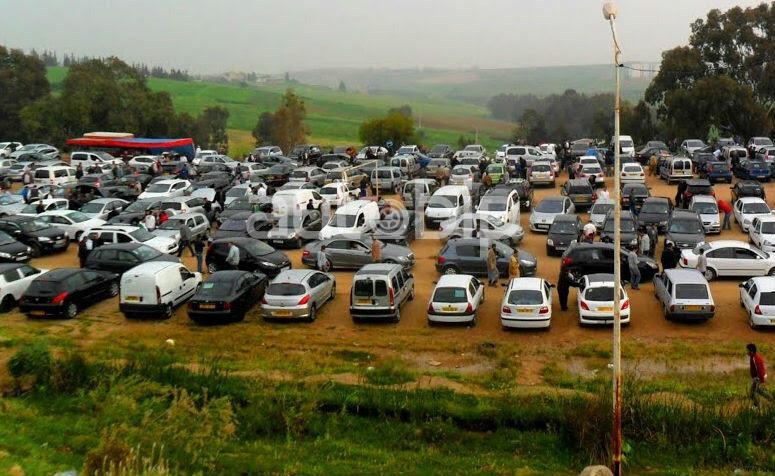 """Résultat de recherche d'images pour """"marché automobile algerie tidjelabine"""""""