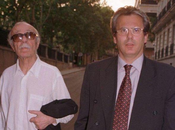 DEFENSOR DE LOS DD.HH.  Junto al ex Juez Baltazar Garzón. (EFE)
