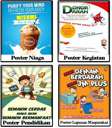 Pengertian Poster, Tujuan, Fungsi dan Jenis Jenisnya ...