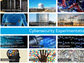 collage of images showing computers, power lines, people and text cyber experimentation