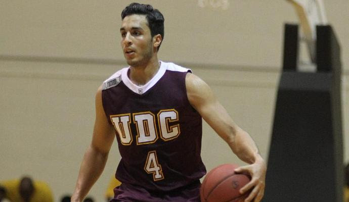 Sophomore Omar Abbas led all scorers with 24 points.