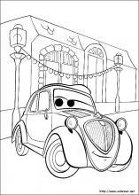 Dibujos De Cars Para Colorear En Colorear Net