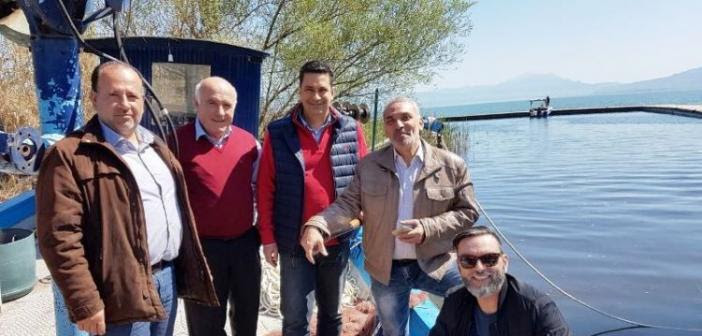 Στην ΕΡΤ1 και στο «Πάμε αλλιώς» αφιέρωμα για τη λίμνη Τριχωνίδα (ΦΩΤΟ)