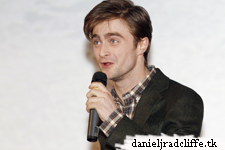 Daniel Radcliffe presents The Woman in Black at the Concorde Film Trade Show