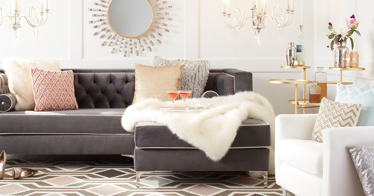 Dazzling Glam Decorating Ideas For Your Home Overstock Com