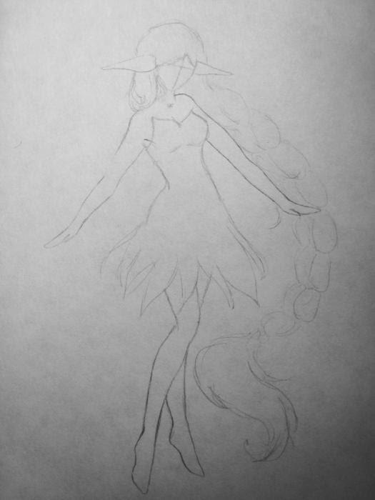 Cómo Dibujar Un Elfo En Etapas Lápiz