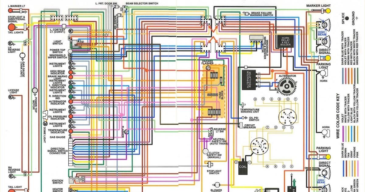 67 Chevelle Wiring Diagram
